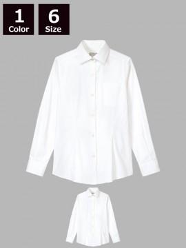 ARB-KM8376 ワイドカラーシャツ(レディース・長袖)