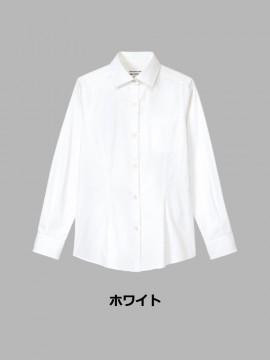 ARB-KM8376 ワイドカラーシャツ(レディース・長袖) カラー一覧