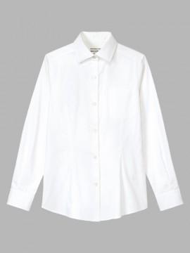 ARB-KM8376 ワイドカラーシャツ(レディース・長袖) 拡大画像