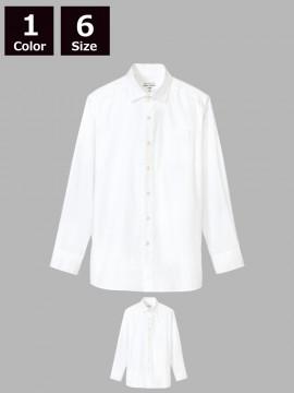 ARB-KM8375 ワイドカラーシャツ(メンズ・長袖)