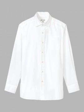 ARB-KM8375 ワイドカラーシャツ(メンズ・長袖) 拡大画像