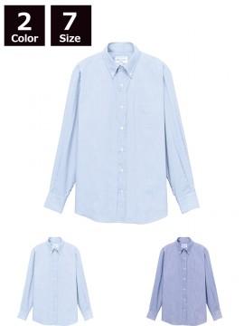 ARB-EP8366 ボタンダウンシャツ(男女兼用・長袖)