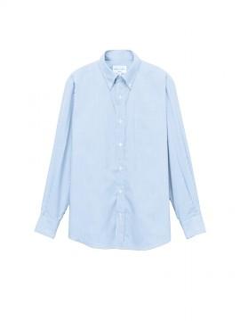 ARB-EP8366 ボタンダウンシャツ(男女兼用・長袖) 拡大画像