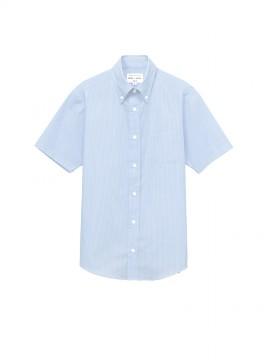 ARB-EP8367 ボタンダウンシャツ(男女兼用・半袖) 拡大画像