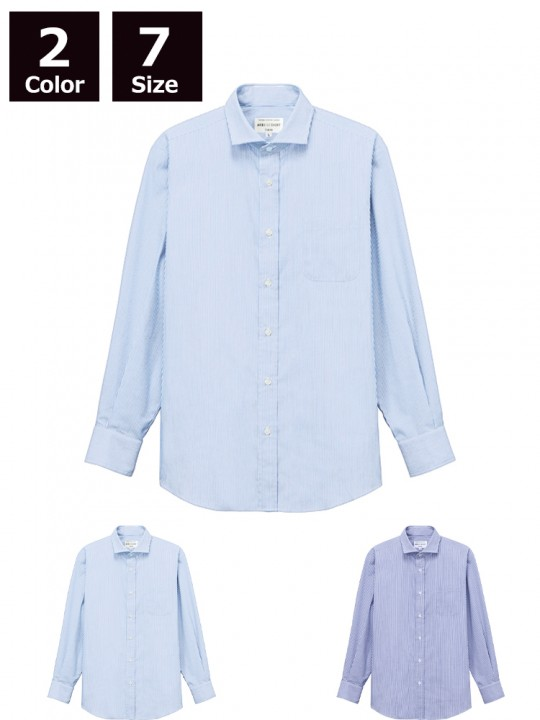 ARB-EP8368 ワイドカラーシャツ(男女兼用・長袖)