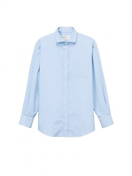 ARB-EP8368 ワイドカラーシャツ(男女兼用・長袖) 拡大画像---