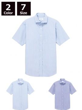 ARB-EP8369 ワイドカラーシャツ(男女兼用・半袖)
