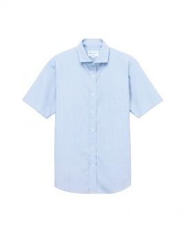 ARB-EP8369 ワイドカラーシャツ(男女兼用・半袖) 拡大画像