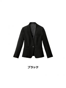 FJ0317L レディスノーカラージャケット カラー一覧 ブラック