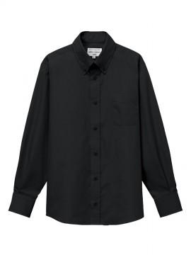 ARB-EP8357 ボタンダウンシャツ(男女兼用・長袖) 拡大画像2