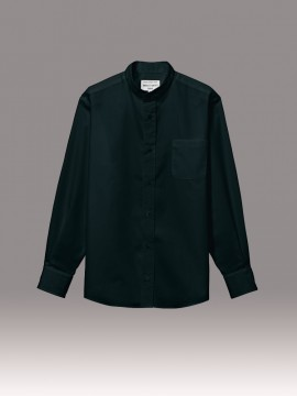 ARB-EP8360 スタンドカラーシャツ(男女兼用・長袖) 拡大画像1