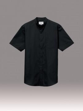 ARB-EP8362 スタンドカラーシャツ(男女兼用・半袖) 拡大画像1