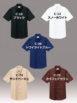 ARB-EP8356 シャツ(男女兼用・半袖) カラー一覧