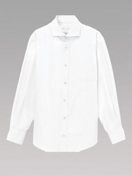 ARB-EP8363 ワイドカラーシャツ(男女兼用・長袖) 拡大画像2