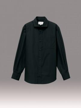 ARB-EP8363 ワイドカラーシャツ(男女兼用・長袖) 拡大画像1