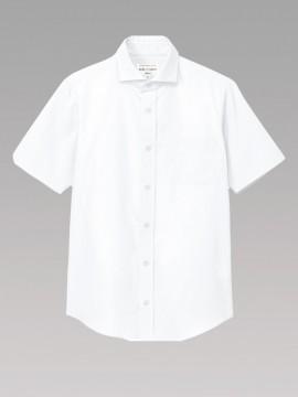 ARB-EP8365 ワイドカラーシャツ(男女兼用・半袖) 拡大画像2