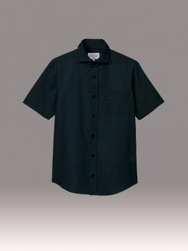 ARB-EP8365 ワイドカラーシャツ(男女兼用・半袖) 拡大画像1