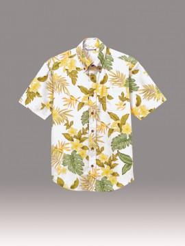 ARB-EP8301 アロハシャツ(男女兼用・半袖) 拡大画像1