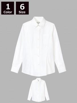 ARB-KM8374 ボタンダウンシャツ(レディース・長袖)