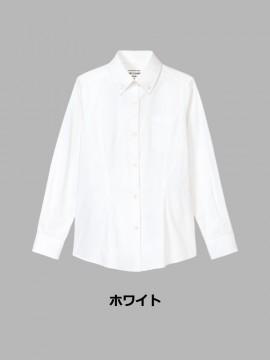 ARB-KM8374 ボタンダウンシャツ(レディース・長袖) カラー一覧