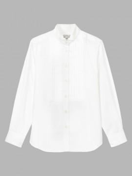 ARB-KM8378 ウイングカラーシャツ(レディース・長袖) 拡大画像