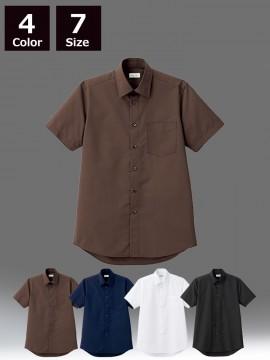 BM-FB5041M メンズレギュラーカラー半袖シャツ