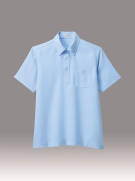 BM-FB4551U ユニセックス ポロシャツ 拡大画像 サックス