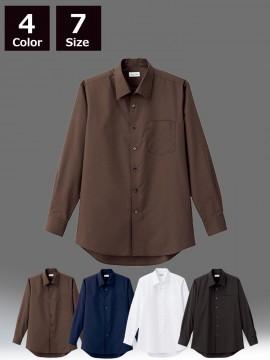 BM-FB5043M メンズ開襟長袖シャツ