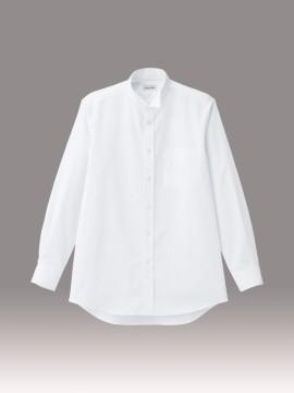 BM-FB5046M メンズウイングシャツ 拡大画像 ホワイト