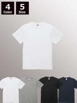 6.0オンス オープンエンド バインダーネック Tシャツ
