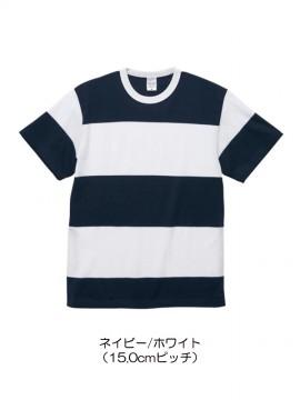 CB-5625 5.6オンス ボーダー Tシャツ 拡大画像