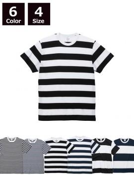 5.6オンス ボーダー Tシャツ