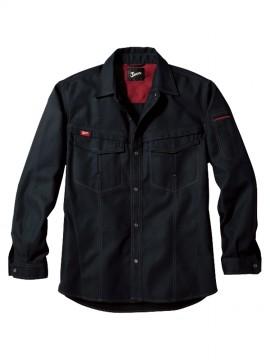 JC-56204 長袖シャツ ブラック