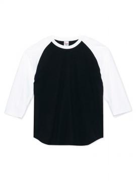 WE-00107-CRB 5.6オンス ヘビーウェイトベースボールTシャツ 拡大画像