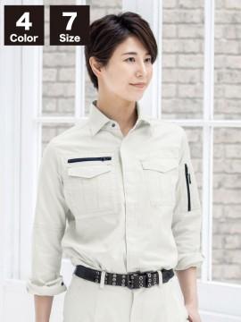 XB2015 レディス長袖シャツ イメージ写真