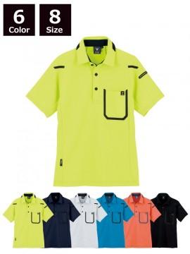 XB6190 半袖ポロシャツ 全体図