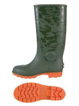 XB85764 耐油セフティ長靴 拡大図