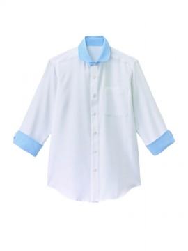 ラウンドカラーシャツ(男女兼用)