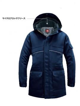 7111 防寒コート(大型フード付) 詳細2