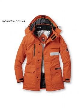 7211 防寒コート(大型フード付)(ユニセックス) 詳細