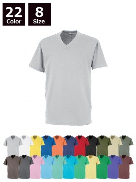 OD00020 エアレットVネック半袖Tシャツ