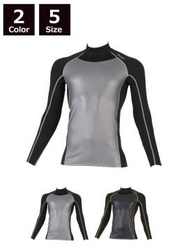 BT防風パワーストレッチ ハイネックシャツ