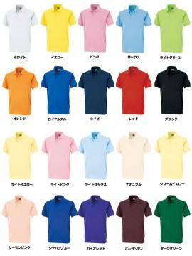 OD-00451 ちょうちん袖ポロシャツ カラー一覧