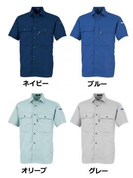 OD-17003 半袖シャツ カラー一覧