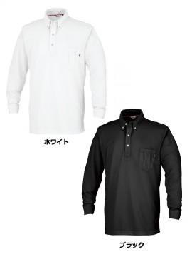 OD-00574 長袖ポロシャツ カラー一覧