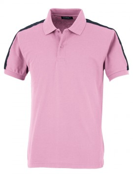 OD-84630 半袖ポロシャツ 拡大図 ピンク