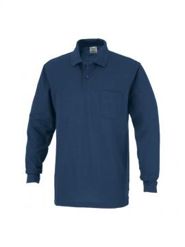 OD-00902 T/C長袖ポロシャツ 拡大図