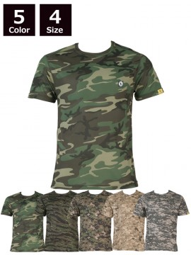 OD-06589 tASkfoRce ドライクールナイス カモフラージュTシャツ