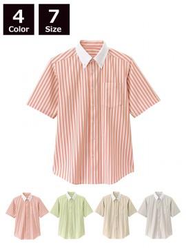 BS-23310 ボタンダウンシャツ ストライプ シャツ一覧