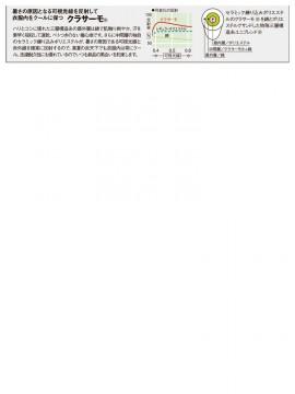 OD-30201 半袖ブルゾン 素材説明